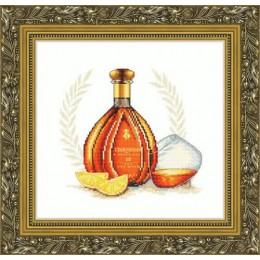 Набор для вышивки крестом - Русский фаворит - Курвуазье