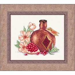Набор для вышивки крестом - Русский фаворит - Гранатовое вино