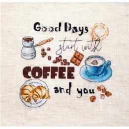 Перерыв на кофе - LETISTITCH - набор для вышивки крестом
