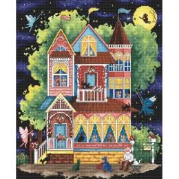 Fairy tale house / Сказочный домик - LETISTITCH - набор для вышивки крестом