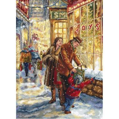 Christmas expectation - LETISTITCH - набор вышивки крестом