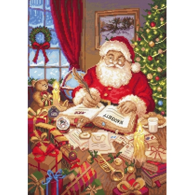 The list of naughty and nice - LETISTITCH - набор вышивки крестом
