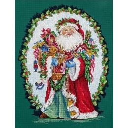 Набор для вышивания крестом - LETISTITCH - L8005 Веселый Святой Николай