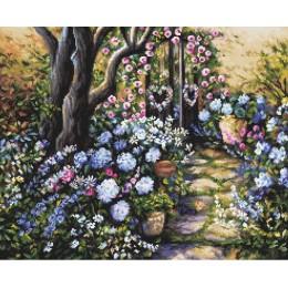 Набор для вышивки крестом - LETISTITCH - LETI 982 Сад чудес