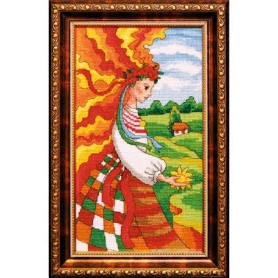 Девушка День - ЛЕДИ - набор вышивки крестом