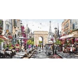 Набор для вышивки крестом - Luca-S - Париж
