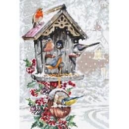 Набор для вышивки крестом Luca-S B2399 Птичий домик