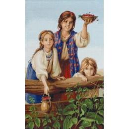 Набор для вышивки крестом - Luca-S - Купите ягод