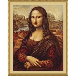 Набор для вышивки крестом - Luca-S - Мона Лиза B416