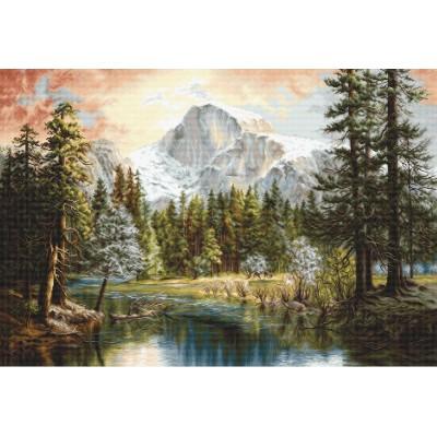 Набор для вышивки крестом - Luca-S - Величие природы