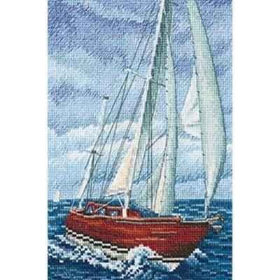 Набор для вышивки крестом - RTO - Со вкусом соли, ветра и солнца М849