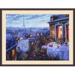 Набор для вышивки крестом - ТМ Мережка - К-188 Парижский вечер