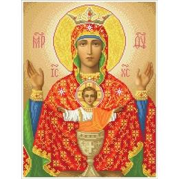 Набор для вышивка бисером икон - БС Солес - Богородица Неупиваемая Чаша