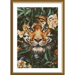 Рай диких джунглей - Новая слобода - набор для вышивки крестом