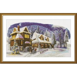 В канун Рождества - Новая Слобода - набор для вышивки крестом