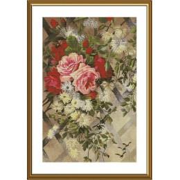 Набор для вышивки крестом - Новая Слобода - В саду из роз