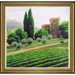 Итальянский пейзаж - Картины бисером - набор вышивки бисером