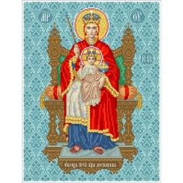 Набор для вышивка бисером икон - БС Солес - Пресвятая Богородица Державная