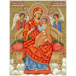 Набор для вышивка бисером икон - БС Солес - Пресвятая Богородица Всецарица