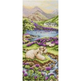 Highlands Landscape/Высокогорье - Anchor - набор вышивки крестом
