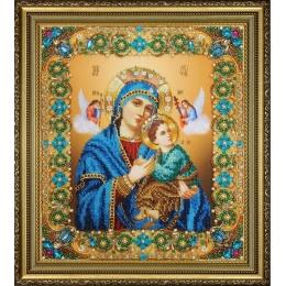 Икона Божьей Матери Неустанной Помощи - Картины бисером - вышивка бисером икон
