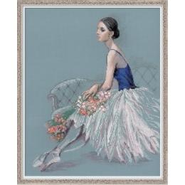 Набор для вышивки крестом - РИОЛИС - 100/054 Балерина