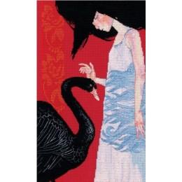 Набор для вышивки крестом - RTO - Черный лебедь М793