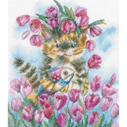 Набор для вышивки крестом - RTO - M839 Тюльпановая весна