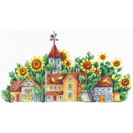 Солнечная страна - Сделай Своими Руками - набор для вышивки крестом