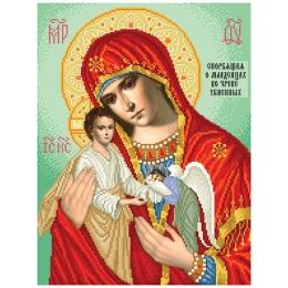 Набор для вышивка бисером икон - БС Солес - Скорбящая Дева Мария