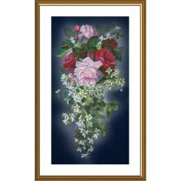 Цветочный каскад - Новая Слобода - набор вышивки крестом