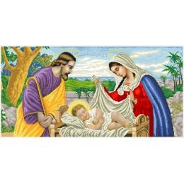 Набор для вышивка бисером икон - БС Солес - Святая Семья (большая)