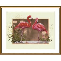 Фламинго СВ4507 - Новая Слобода - набор для вышивки крестом