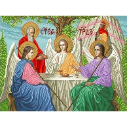 Набор для вышивка бисером икон - БС Солес - Троица Старозаветная