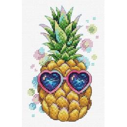 Солнечный ананас - МП Студия - набор вышивки крестом