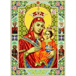 Набор для вышивка бисером икон - БС Солес - Богородица Вифлеемская