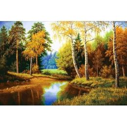 В летнем лесу - Токарева А. - авторский набор вышивки бисером