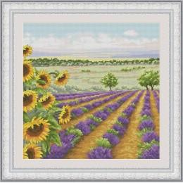 Летний пейзаж 3 - OLanTA - набор вышивки крестом