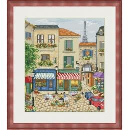Улицы Парижа - OLanTA - набор вышивки крестом