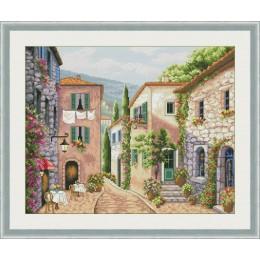 Улицы Италии - OLanTA - набор вышивки крестом