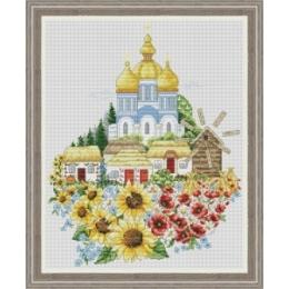Набор для вышивки крестом - OLanTa - VN-162 Мой край