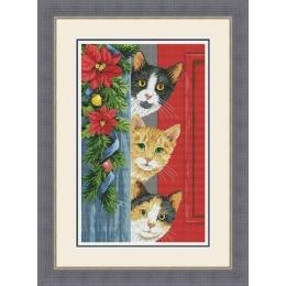 Набор для вышивки крестом - OLanTa - VN-164 Hello, Christmas