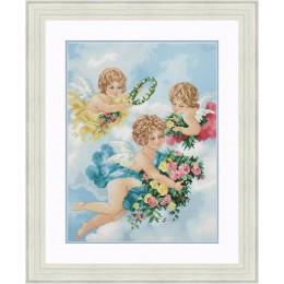 Набор для вышивки крестом - OLanTA - VN-165 Ангелы