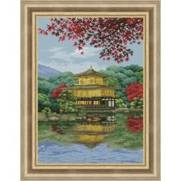 Набор для вышивки крестом - OLanTA - VN-167 Золотой храм