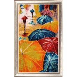 Веселые зонтики - Butterfly - набор для вышивки бисером