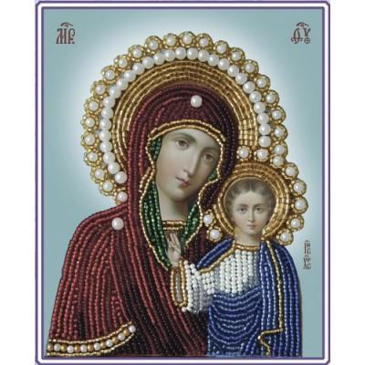 Икона БОГОРОДИЦА КАЗАНСКАЯ - Изящное рукоделие - вышивка бисером икон
