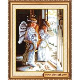 Набор для вышивки крестом - Абрис Арт - АН-001Ангелы