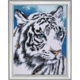 Набор для вышивки бисером - Butterfly - №621 Белый тигр