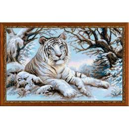 Набор для вышивки крестом - РИОЛИС - 1184 Бенгальский тигр