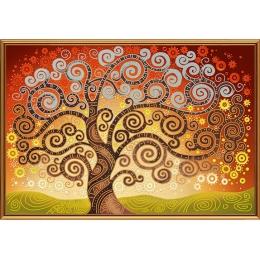 Дерево счастья - Нова Слобода - схема вышивки бисером